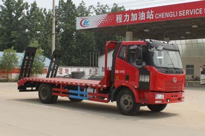 解放10吨平板运输车