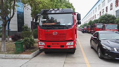 解放j6单桥平板运输车(国五型)