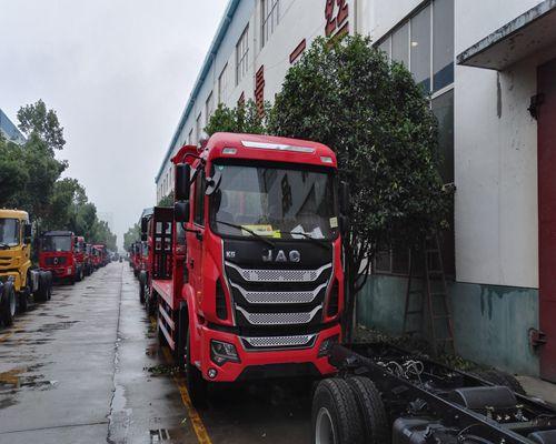 江淮K5单桥平板运输车(国五型)