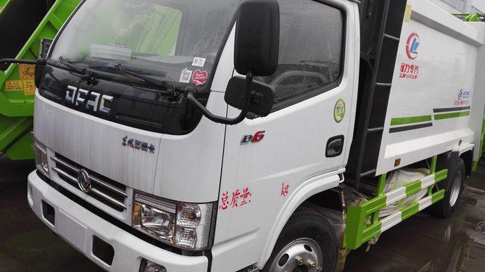东风小多利卡压缩式垃圾车(国五型)